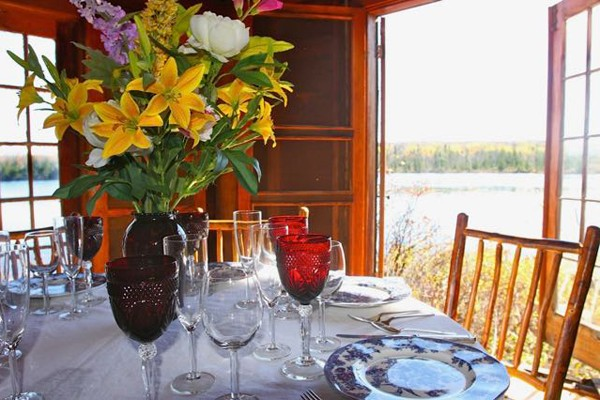 Waterfront Dining at Quimby's in Vermont