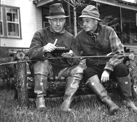 Governor Aiken and Alf Landon