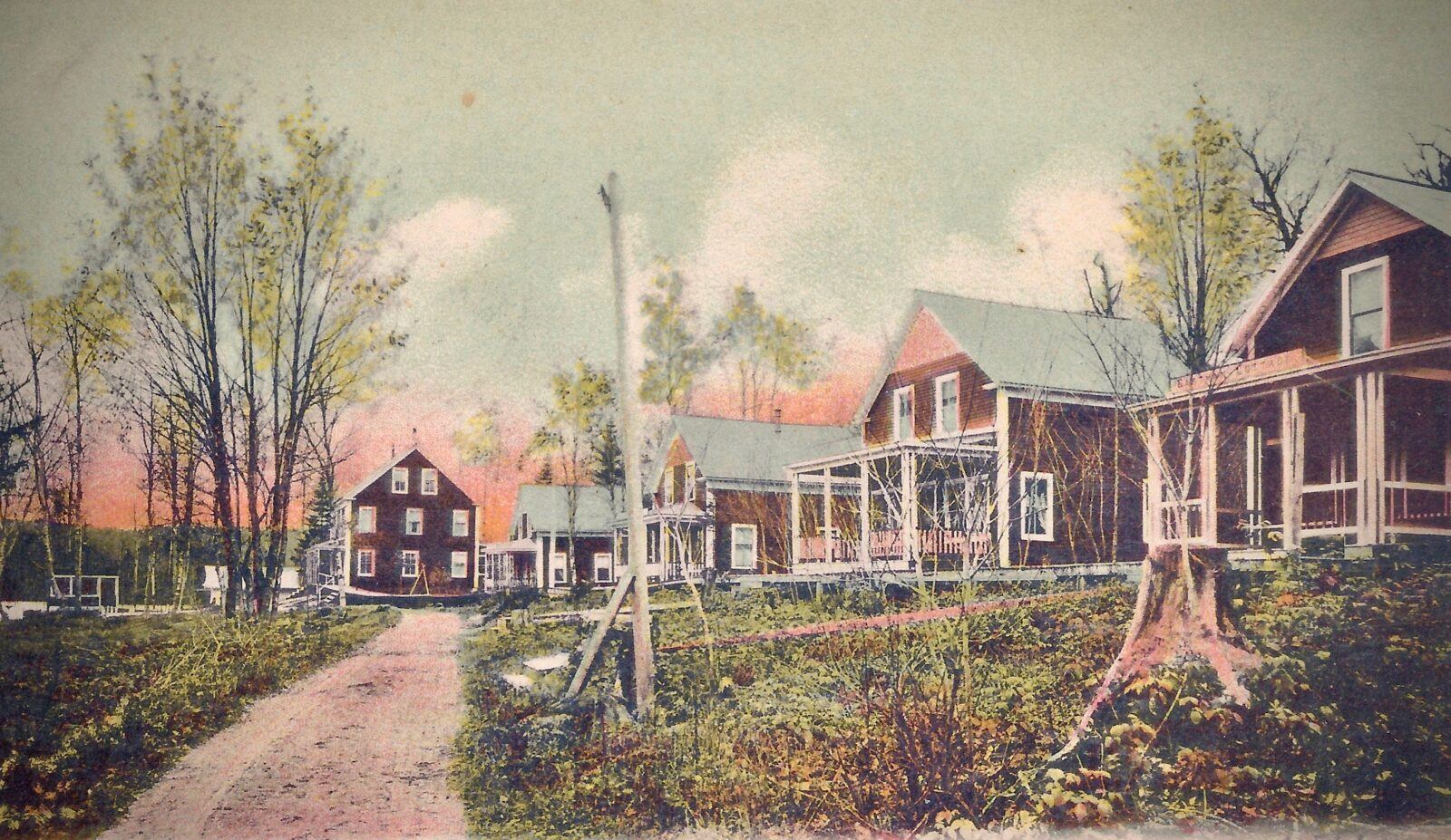 Old Quimby Country Postcard
