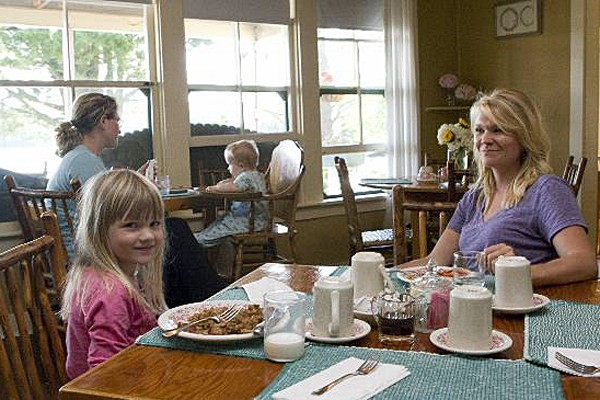 Family Dining at Quimby's in Vermont