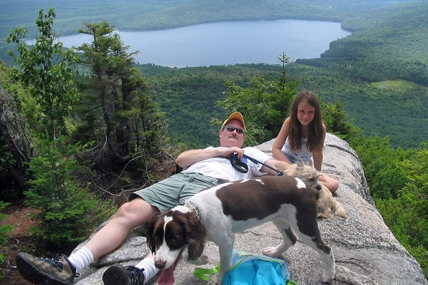 Hiking Trails at Quimby Country in Vermont