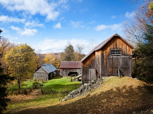 Poore Farm Near Quimby Country in Vermont