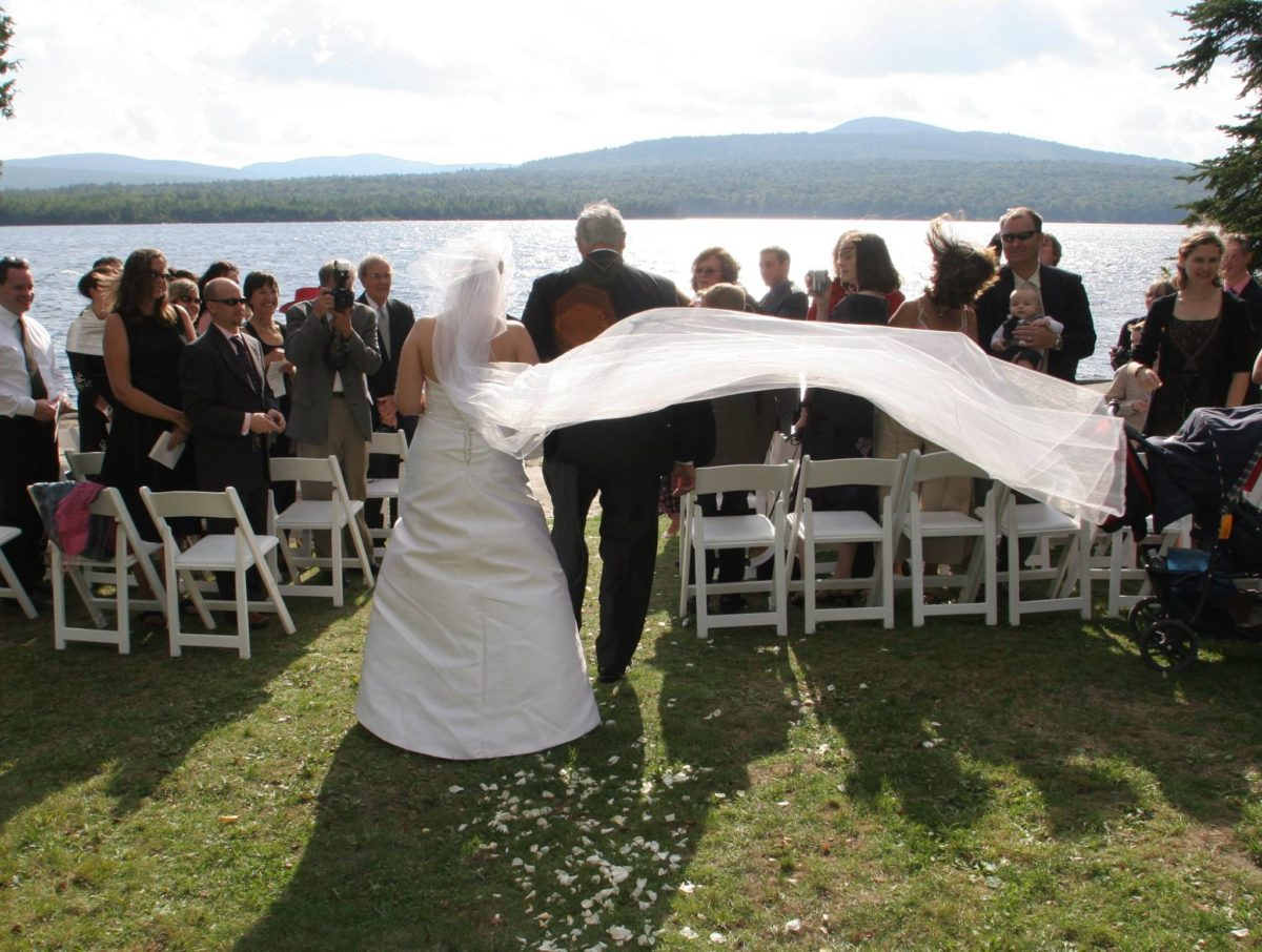 Autumn Weddings in Vermont at Quimby Country