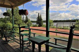 Quimby Lodge porch